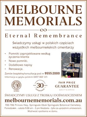Melbourne Memorials