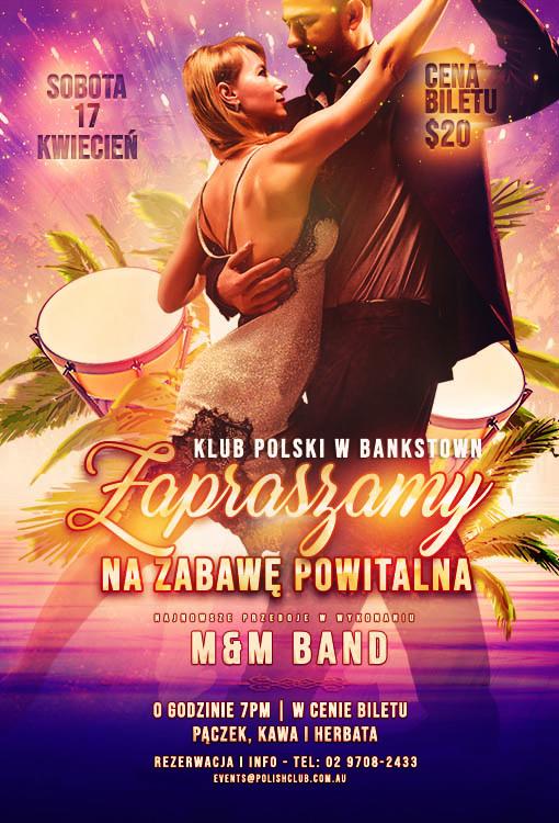 Zabawa Powitalna_Klub Polski Bankstown