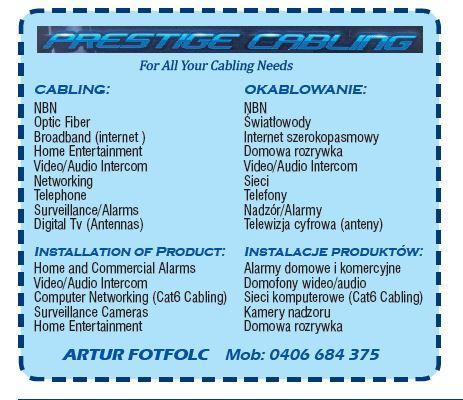 Prestige Cabling